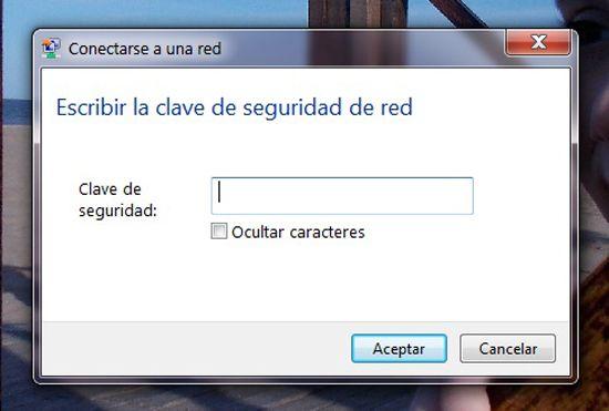 Conectar la PC a la red