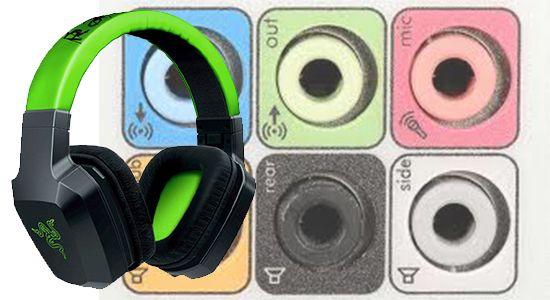 Cómo conectar auriculares a la PC