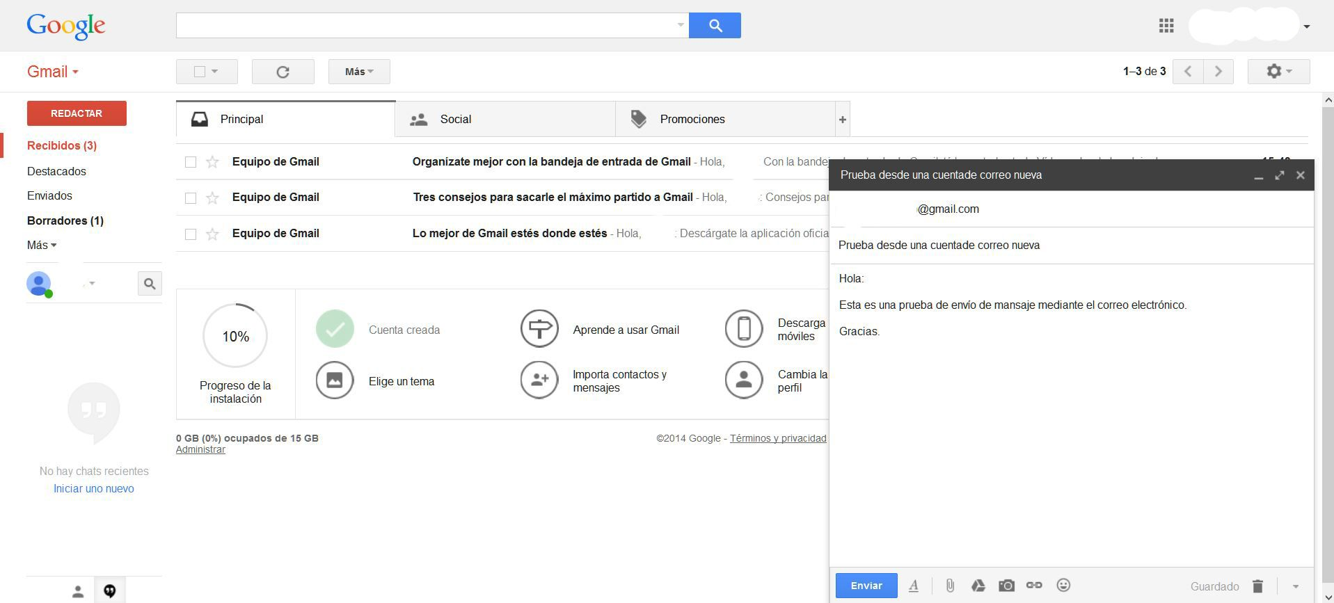 Cómo hacer un email