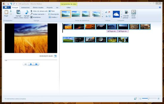 Cómo hacer video en Windows Movie Maker
