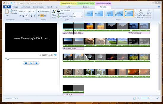 Cómo hacer video en Windows Movie Maker