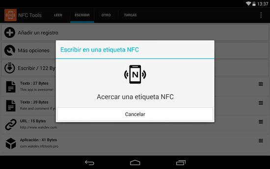 Cómo usar NFC