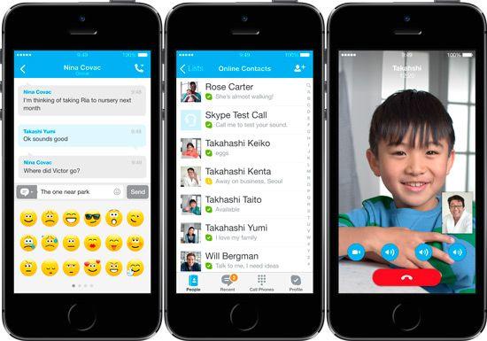 chat gratuita iphone