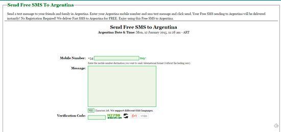 Enviar SMS gratis desde la PC