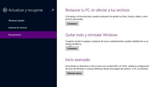Cómo formatear Windows 8