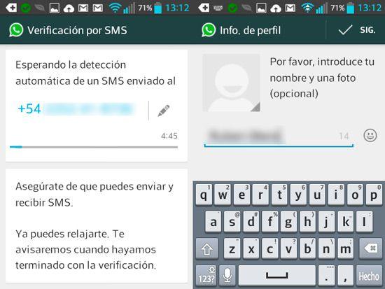 Instalar WhatsApp en el telefono