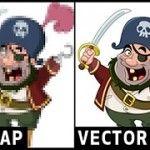 ¿Cómo diferenciar entre imágenes de mapas de bits y vectoriales?