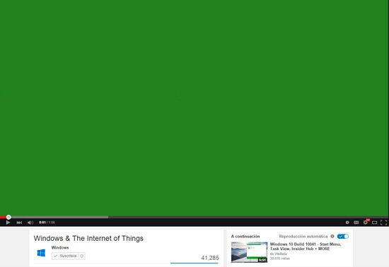 Problemas al reproducir video de Internet