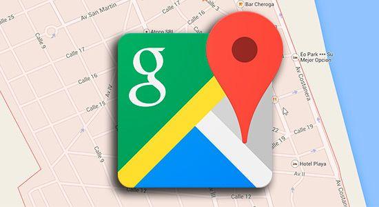Compartir mapas con Google Maps