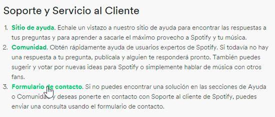 Cómo eliminar cuenta en Spotify