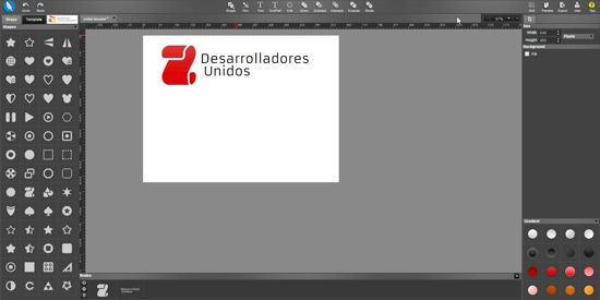 Crear logo con Chrome