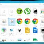 ¿Cómo añadir la carpeta Aplicaciones al escritorio en Windows 8?