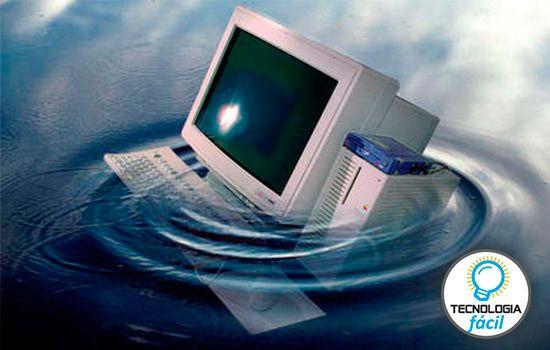 Recuperar PC mojada