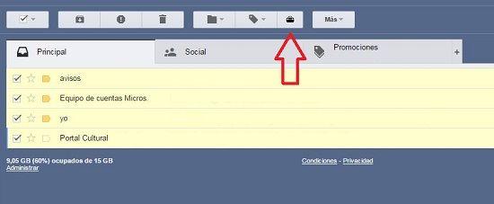 Descargar emails en PDF