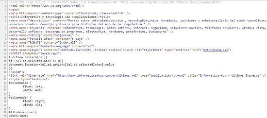 Qué es código fuente