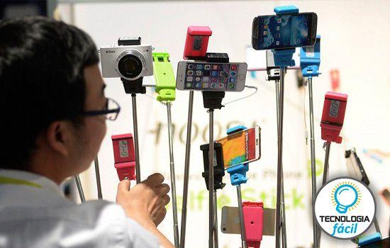 Cómo comprar palo de selfie