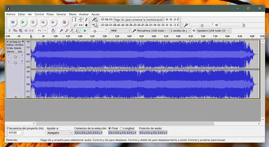 Cómo grabar audio profesional