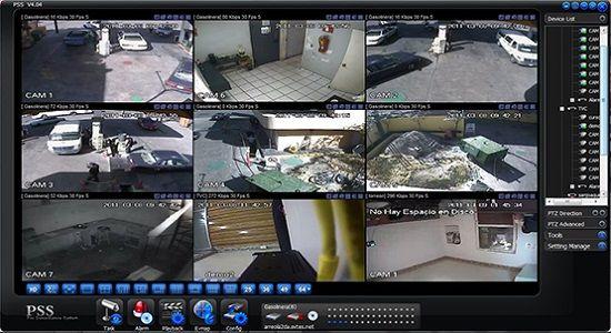 Sistema de vigilancia hogareño