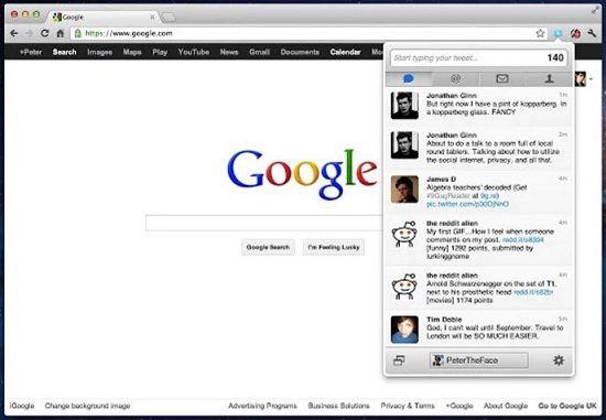 Extensiones Chrome para redes sociales