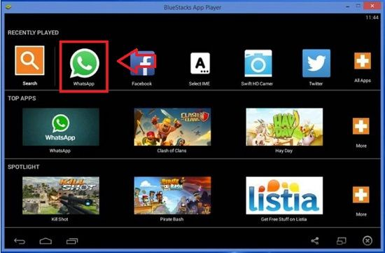 Instalar WhatsApp en la PC