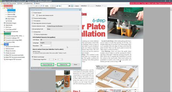 Extraer audio y video de PDF