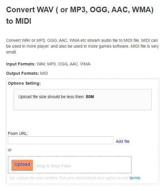 Extraer notación musical de canción MP3
