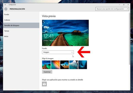 Quitar publicidad en bloqueo Windows 10