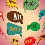 Significado de las abreviaturas que encuentras en Internet