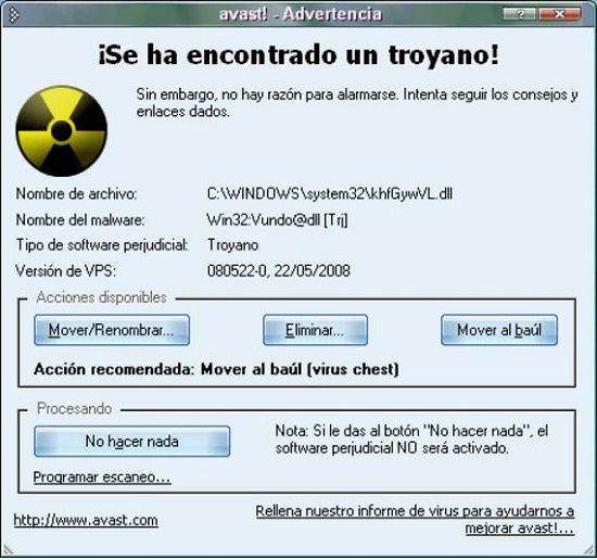 Todos los tipos de virus