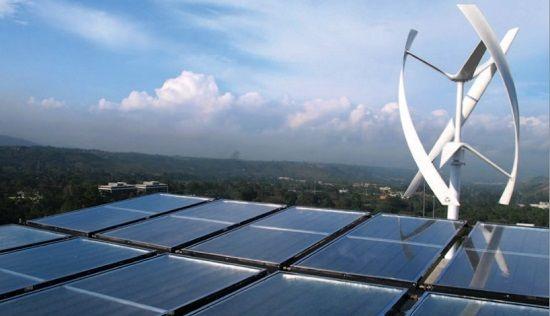 Sistemas de energía renovable híbrido