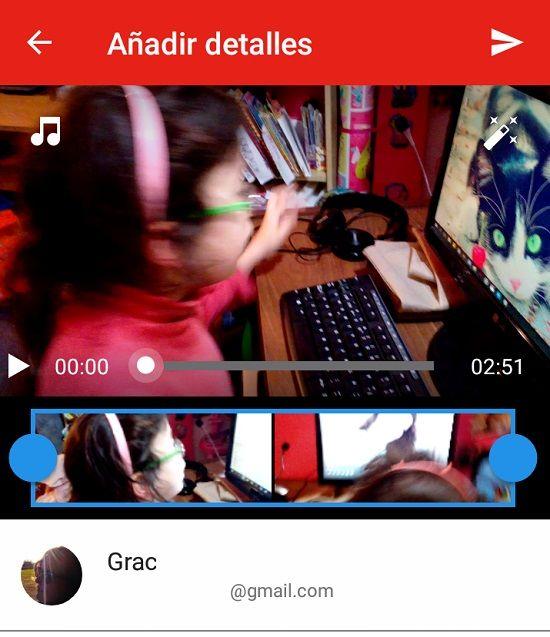 Compartir videos