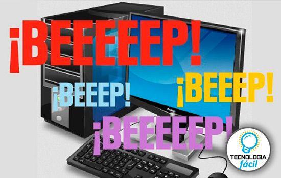 Significado de los bip de la PC
