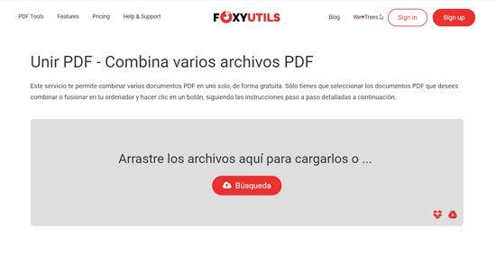Unir y separar PDF