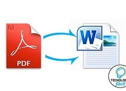 ¿Cómo convertir PDF a Word?